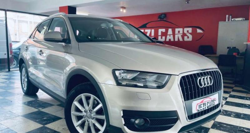 Audi Q3 2.0 TDi Marron occasion à Beveren-Leie (Waregem)