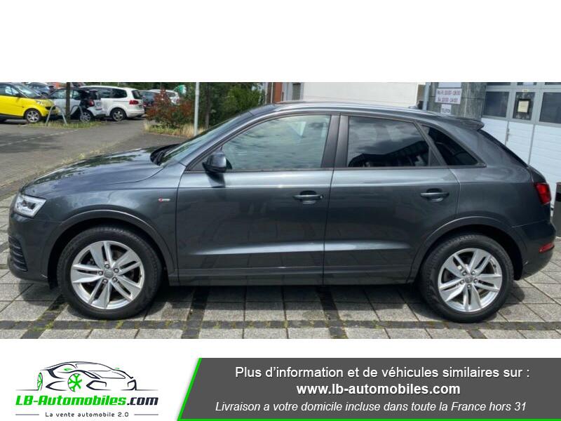 Audi Q3 2.0 TFSI 220ch Quattro S-Line Gris occasion à Beaupuy - photo n°7