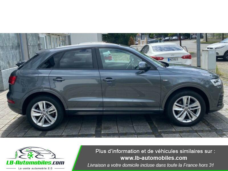 Audi Q3 2.0 TFSI 220ch Quattro S-Line Gris occasion à Beaupuy - photo n°6