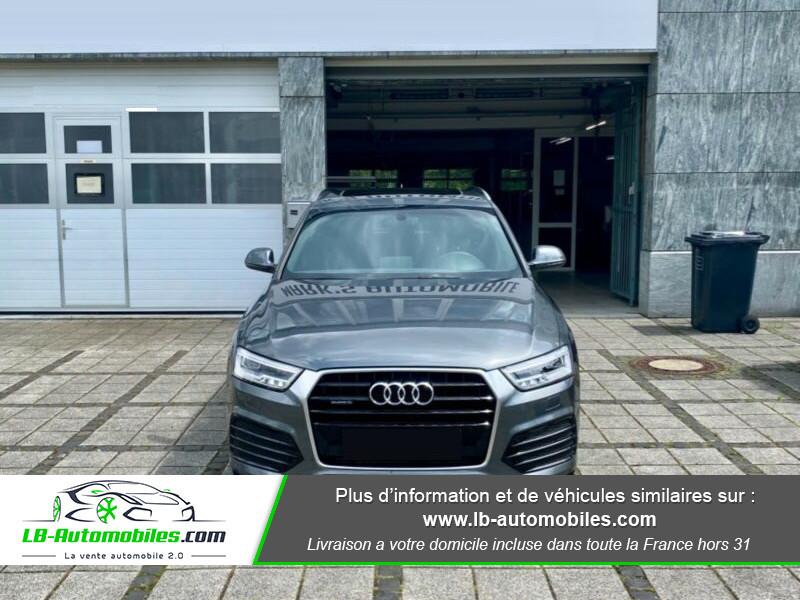 Audi Q3 2.0 TFSI 220ch Quattro S-Line Gris occasion à Beaupuy - photo n°8
