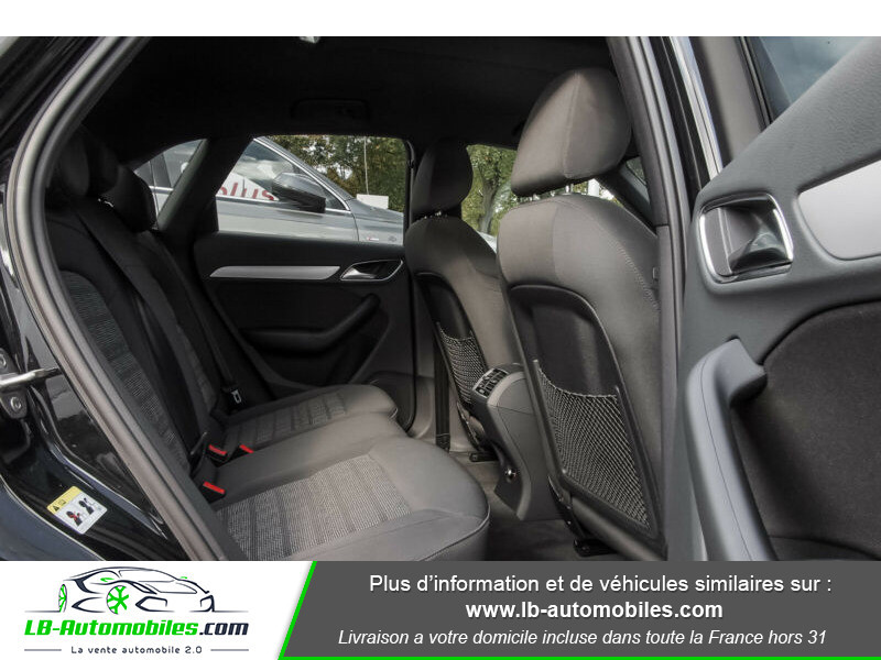 Audi Q3 2.0 TFSI 220ch Quattro / S-Tronic Noir occasion à Beaupuy - photo n°5