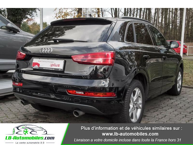 Audi Q3 2.0 TFSI 220ch Quattro / S-Tronic Noir occasion à Beaupuy - photo n°3