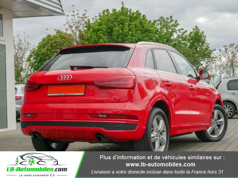 Audi Q3 2.0 TFSI 220ch Quattro / S-Tronic Rouge occasion à Beaupuy - photo n°3