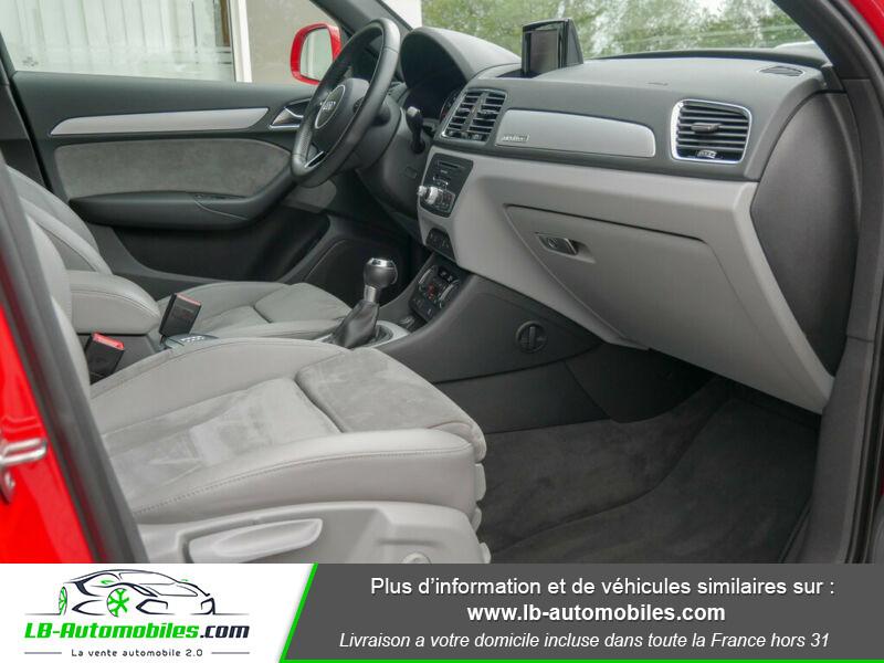 Audi Q3 2.0 TFSI 220ch Quattro / S-Tronic Rouge occasion à Beaupuy - photo n°4
