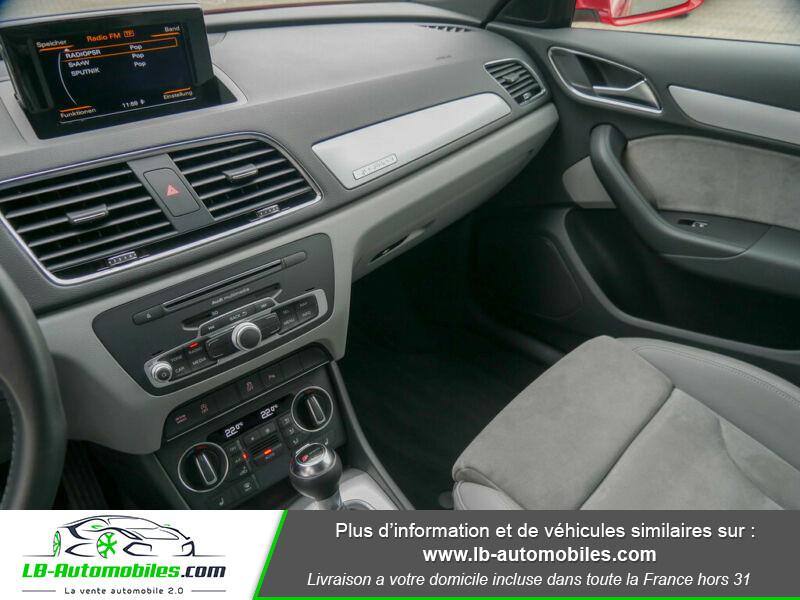 Audi Q3 2.0 TFSI 220ch Quattro / S-Tronic Rouge occasion à Beaupuy - photo n°8