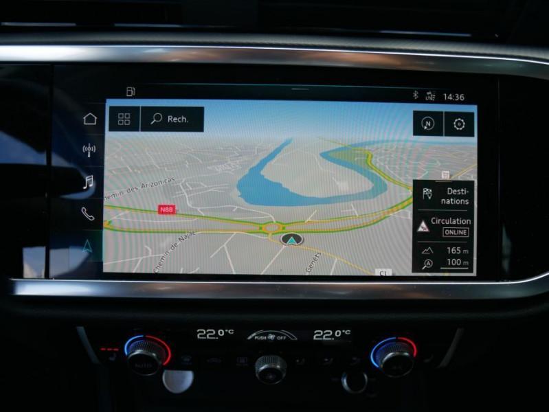 Audi Q3 35 TDI 150 BV6 QUATTRO SPORTLINE GPS Full LED Virtual Cockpi Gris occasion à Montauban - photo n°17