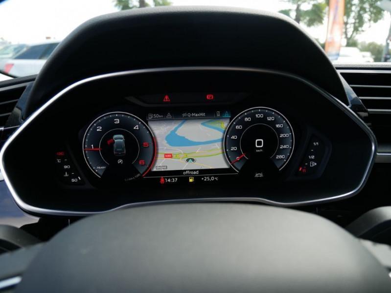 Audi Q3 35 TDI 150 BV6 QUATTRO SPORTLINE GPS Full LED Virtual Cockpi Gris occasion à Montauban - photo n°19