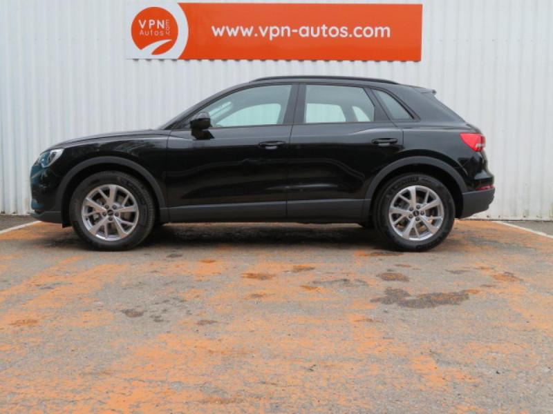 Audi Q3 35 TDI 150 CH S TRONIC 7 DESIGN Noir occasion à Mérignac - photo n°3