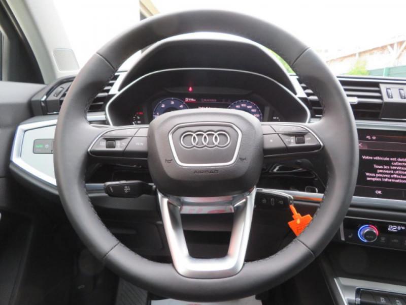Audi Q3 35 TDI 150 CH S TRONIC 7 DESIGN Noir occasion à Mérignac - photo n°16