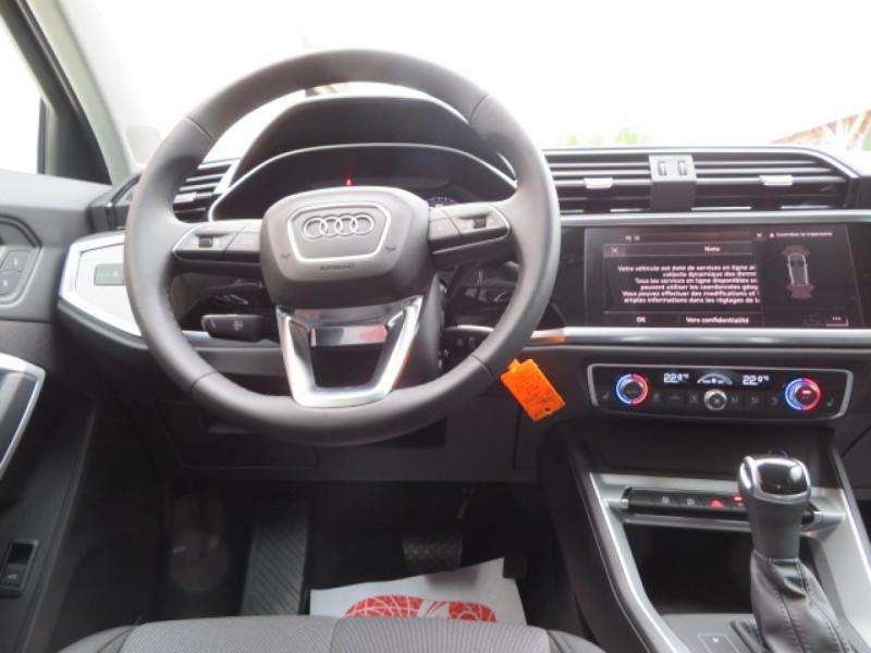 Audi Q3 35 TDI 150 CH S TRONIC 7 DESIGN Noir occasion à Mérignac - photo n°15