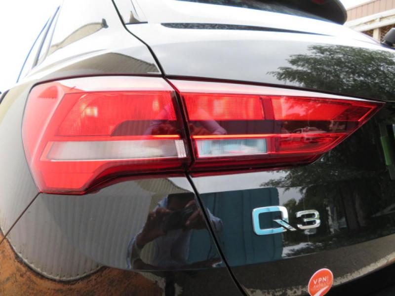 Audi Q3 35 TDI 150 CH S TRONIC 7 DESIGN Noir occasion à Mérignac - photo n°10