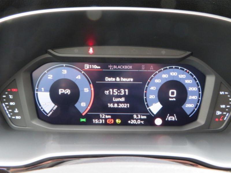 Audi Q3 35 TDI 150 CH S TRONIC 7 DESIGN Noir occasion à Mérignac - photo n°17
