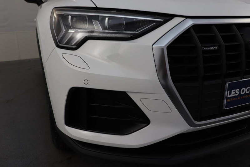 Audi Q3 35 TDI 150 ch S tronic 7 Quattro Design Blanc occasion à La Garde - photo n°8