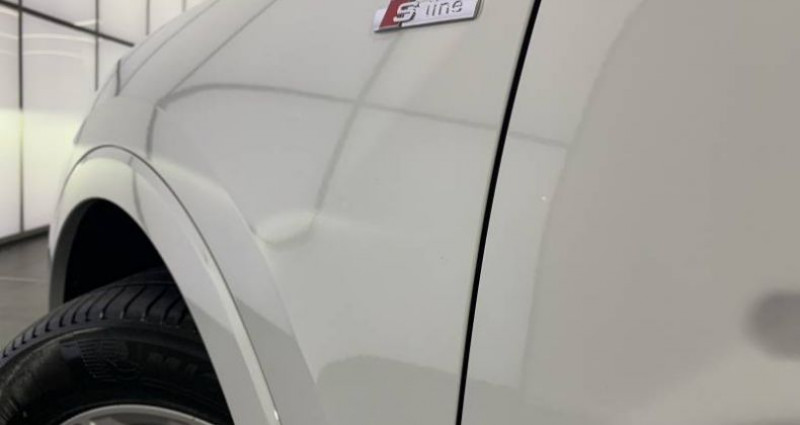 Audi Q3 35 TDI 150 ch S tronic 7 S line Blanc occasion à Saint-Ouen - photo n°5
