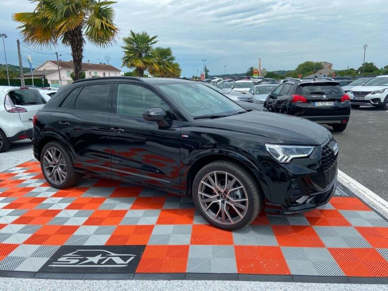 Audi Q3 35 TDI 150 STRONIC S EDITION GPS JA20'' Gtie 4ans Noir occasion à Lescure-d'Albigeois - photo n°10