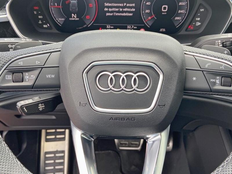 Audi Q3 35 TDI 150 STRONIC S EDITION GPS JA20'' Gtie 4ans Noir occasion à Lescure-d'Albigeois - photo n°18