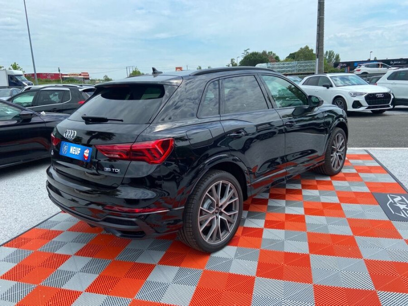 Audi Q3 35 TDI 150 STRONIC S EDITION GPS JA20'' Gtie 4ans Noir occasion à Lescure-d'Albigeois - photo n°2