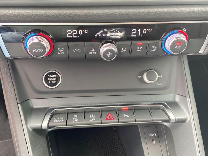 Audi Q3 35 TDI 150 STRONIC S EDITION GPS JA20'' Gtie 4ans Noir occasion à Lescure-d'Albigeois - photo n°16