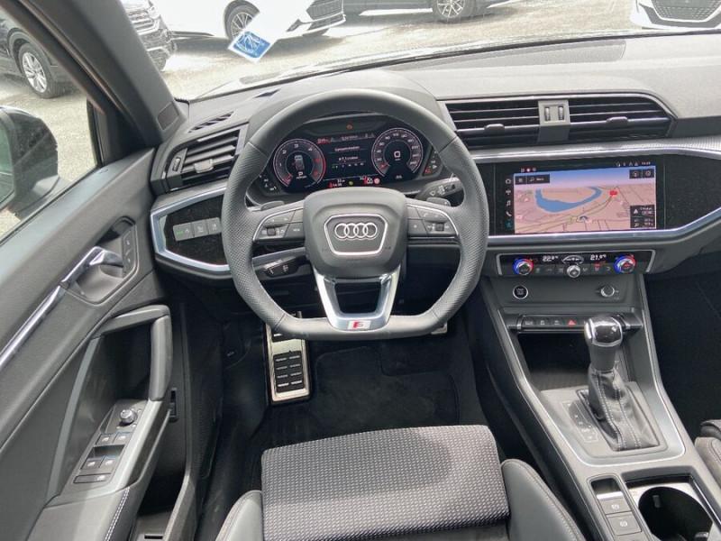 Audi Q3 35 TDI 150 STRONIC S EDITION GPS JA20'' Gtie 4ans Noir occasion à Lescure-d'Albigeois - photo n°11