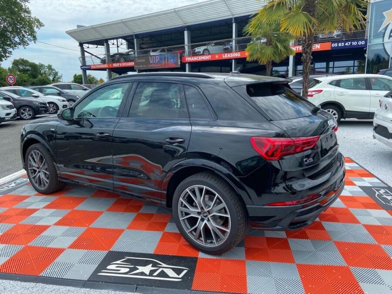 Audi Q3 35 TDI 150 STRONIC S EDITION GPS JA20'' Gtie 4ans Noir occasion à Lescure-d'Albigeois - photo n°5