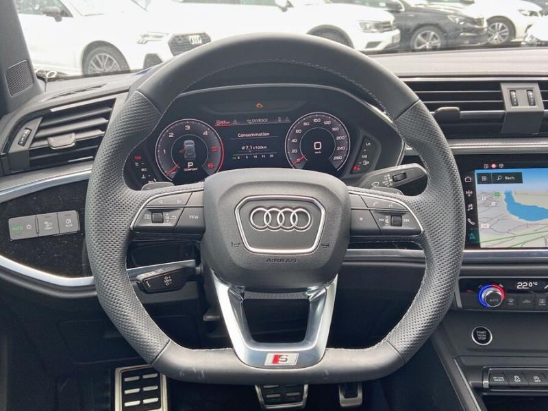 Audi Q3 35 TDI 150 STRONIC S EDITION GPS JA20'' Gtie 4ans Noir occasion à Lescure-d'Albigeois - photo n°13