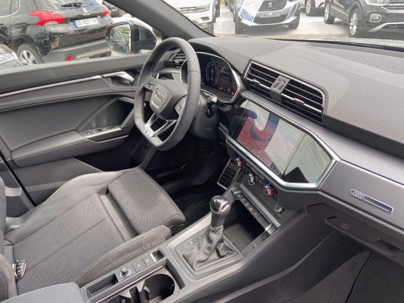 Audi Q3 35 TDI 150 STRONIC S EDITION GPS JA20'' Gtie 4ans Noir occasion à Lescure-d'Albigeois - photo n°9