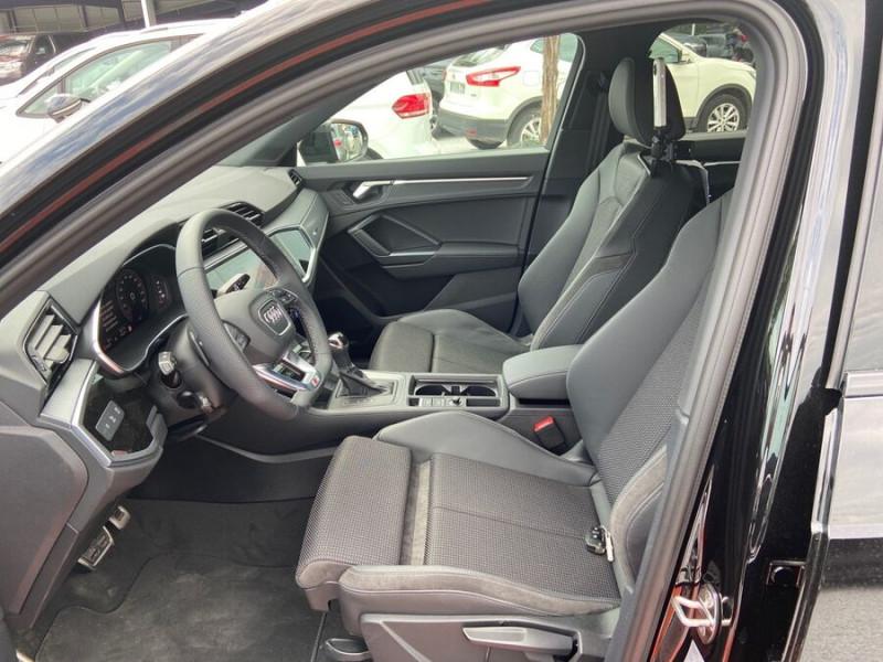 Audi Q3 35 TDI 150 STRONIC S EDITION GPS JA20'' Gtie 4ans Noir occasion à Lescure-d'Albigeois - photo n°3