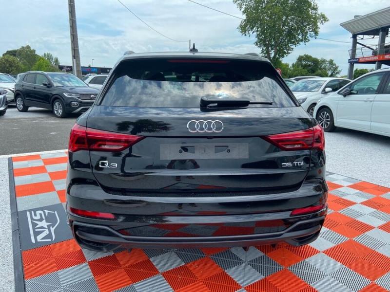 Audi Q3 35 TDI 150 STRONIC S EDITION GPS JA20'' Gtie 4ans Noir occasion à Lescure-d'Albigeois - photo n°6
