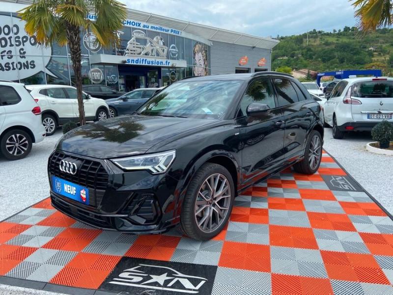 Audi Q3 35 TDI 150 STRONIC S EDITION GPS JA20'' Gtie 4ans Noir occasion à Lescure-d'Albigeois