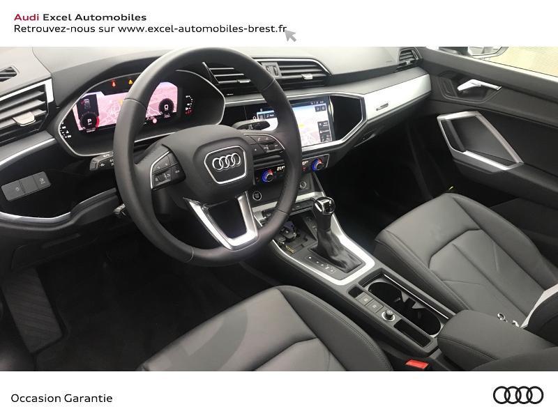 Audi Q3 35 TDI 150ch Design S tronic 7 Blanc occasion à Brest - photo n°6
