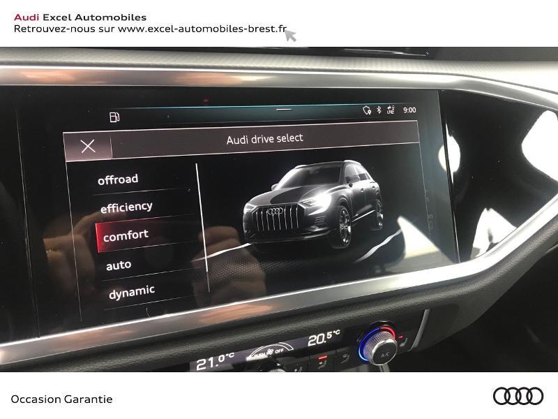Audi Q3 35 TDI 150ch Design S tronic 7 Blanc occasion à Brest - photo n°14