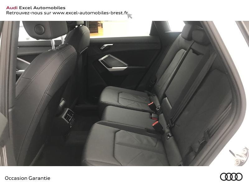 Audi Q3 35 TDI 150ch Design S tronic 7 Blanc occasion à Brest - photo n°8