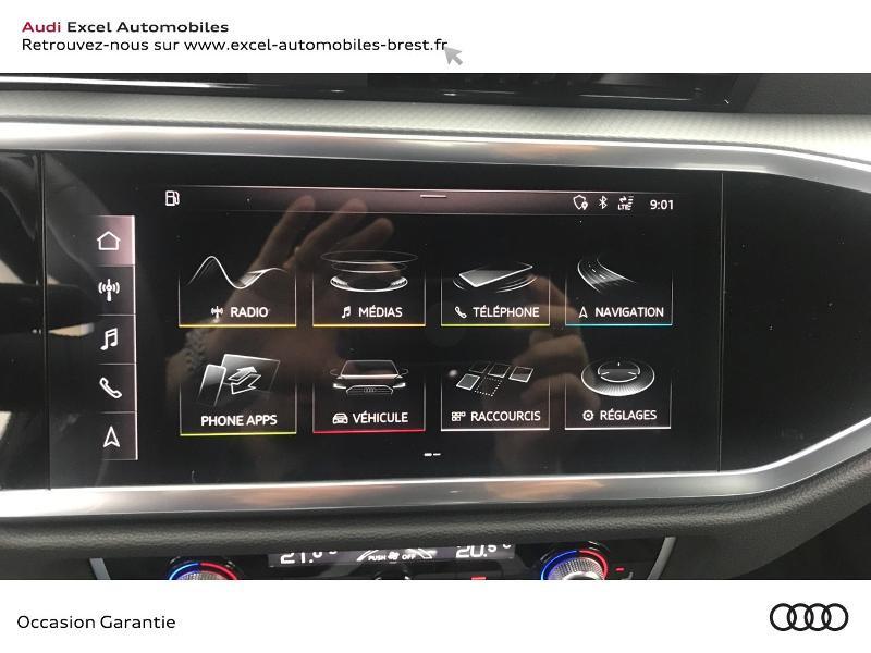 Audi Q3 35 TDI 150ch Design S tronic 7 Blanc occasion à Brest - photo n°17