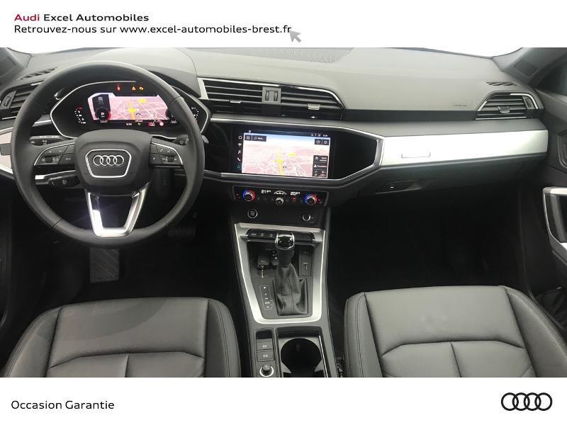 Audi Q3 35 TDI 150ch Design S tronic 7 Blanc occasion à Brest - photo n°7