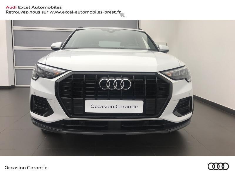 Audi Q3 35 TDI 150ch Design S tronic 7 Blanc occasion à Brest - photo n°2