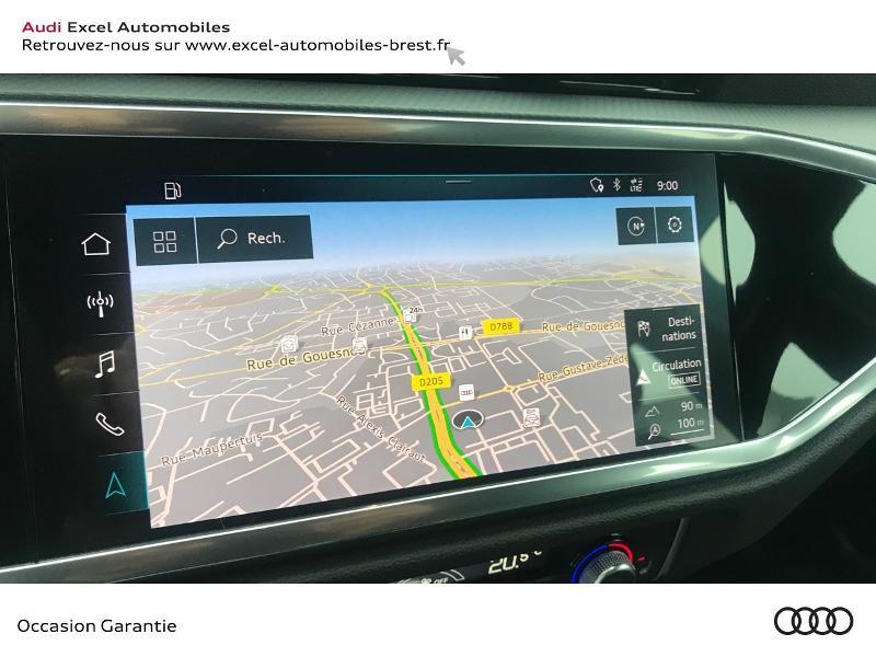 Audi Q3 35 TDI 150ch Design S tronic 7 Blanc occasion à Brest - photo n°12