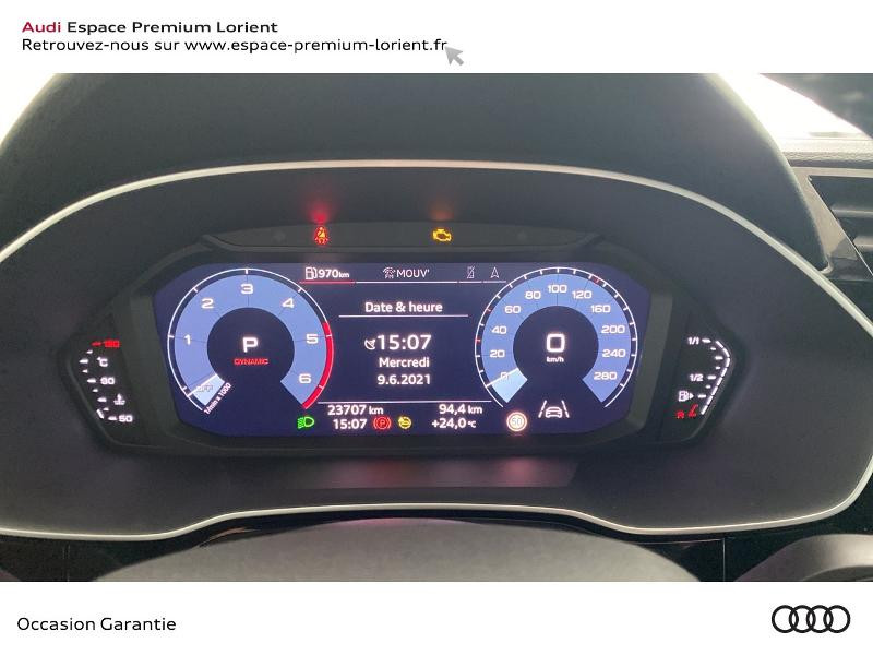 Audi Q3 35 TDI 150ch S line S tronic 7 Gris occasion à Lanester - photo n°9
