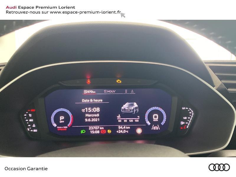 Audi Q3 35 TDI 150ch S line S tronic 7 Gris occasion à Lanester - photo n°10