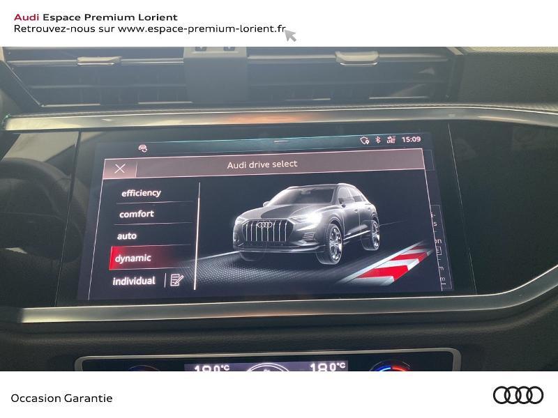 Audi Q3 35 TDI 150ch S line S tronic 7 Gris occasion à Lanester - photo n°16