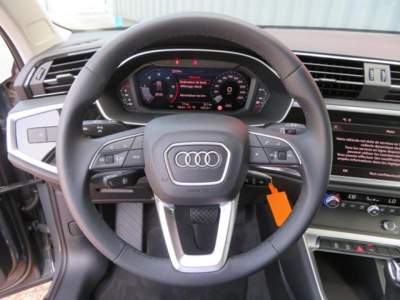 Audi Q3 35 tdi 150ch S tronic 7 Design Gris occasion à Labège - photo n°12