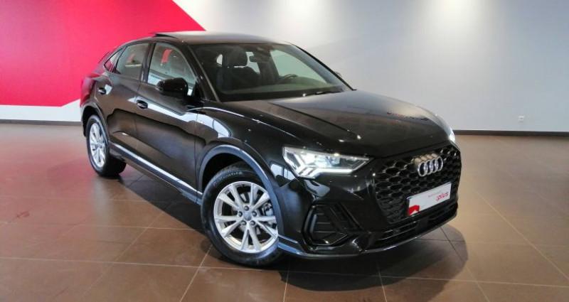 Audi Q3 35 TFSI 150 ch S tronic 7 S line Noir occasion à Saint-Ouen