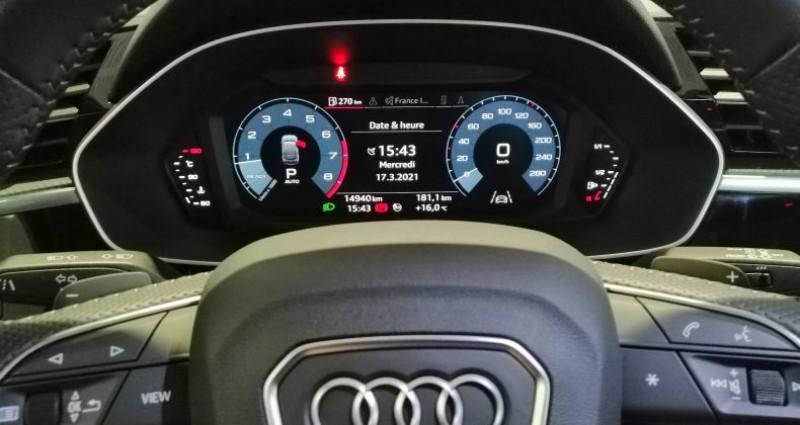 Audi Q3 35 TFSI 150 ch S tronic 7 S line Noir occasion à Saint-Ouen - photo n°6