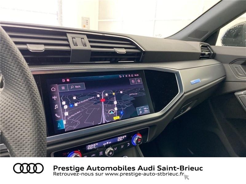 Audi Q3 35 TFSI 150 CH S TRONIC 7 Noir occasion à Saint-Brieuc - photo n°12