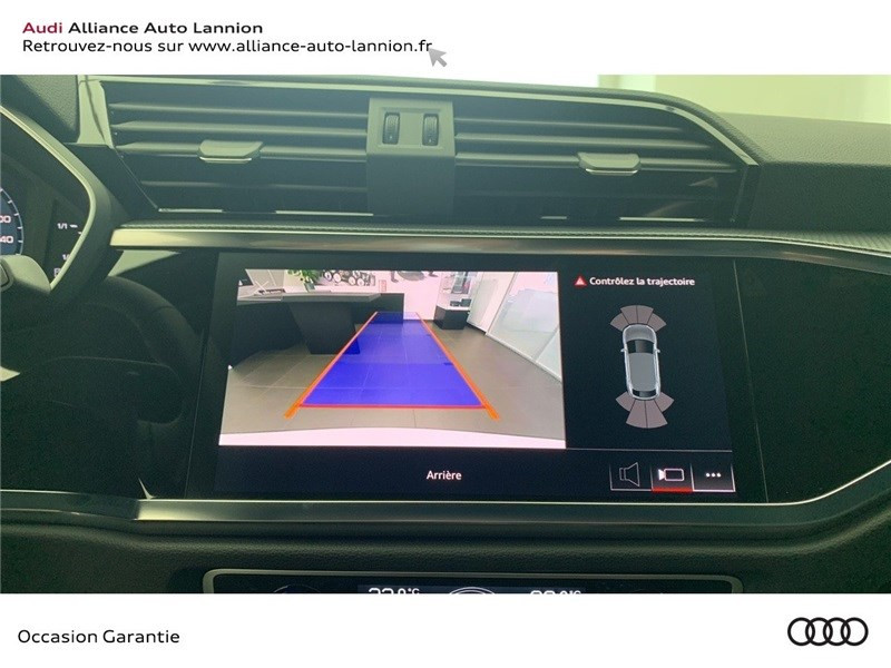 Audi Q3 35 TFSI 150 CH S TRONIC 7 Blanc occasion à Saint-Brieuc - photo n°14