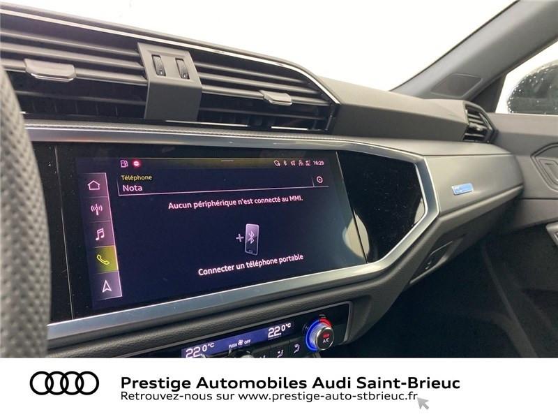 Audi Q3 35 TFSI 150 CH S TRONIC 7 Noir occasion à Saint-Brieuc - photo n°13