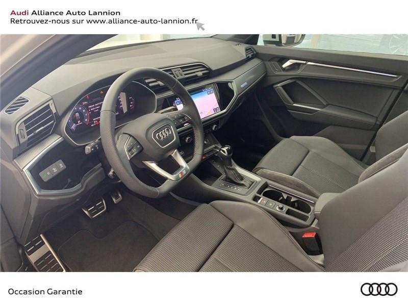 Audi Q3 35 TFSI 150 CH S TRONIC 7 Blanc occasion à Saint-Brieuc - photo n°8