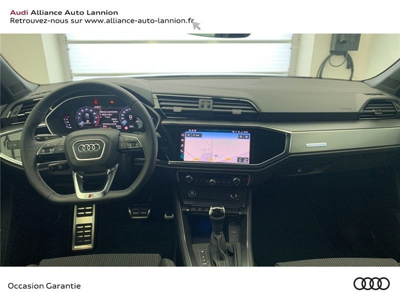 Audi Q3 35 TFSI 150 CH S TRONIC 7 Blanc occasion à Saint-Brieuc - photo n°9