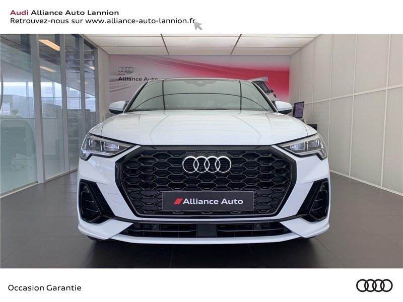 Audi Q3 35 TFSI 150 CH S TRONIC 7 Blanc occasion à Saint-Brieuc - photo n°2