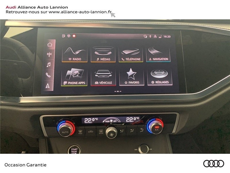 Audi Q3 35 TFSI 150 CH S TRONIC 7 Blanc occasion à Saint-Brieuc - photo n°13