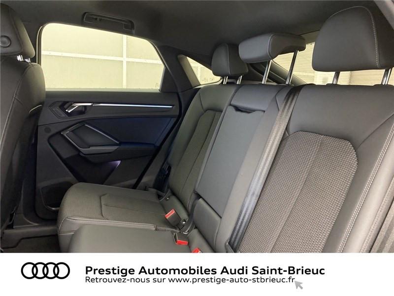 Audi Q3 35 TFSI 150 CH S TRONIC 7 Noir occasion à Saint-Brieuc - photo n°8